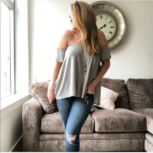 Tops - MaryKate Off The Shoulder Top